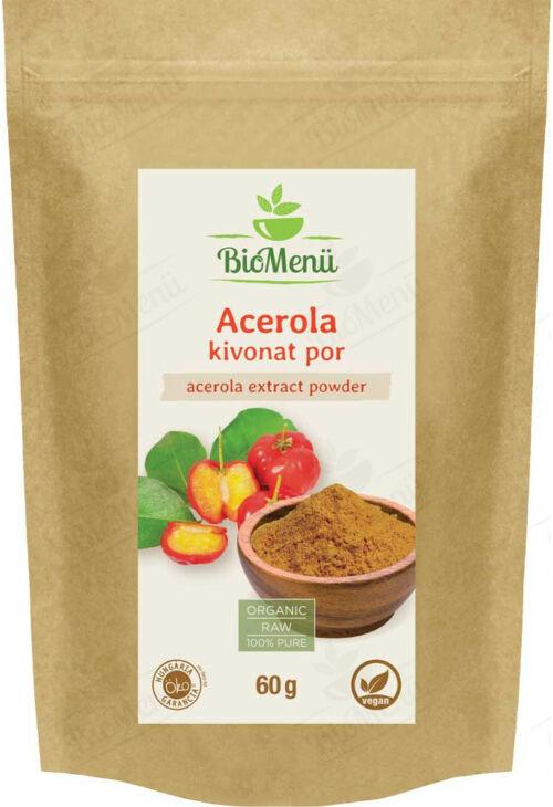 Acerola bogyó kivonat por BioMenü 60 g