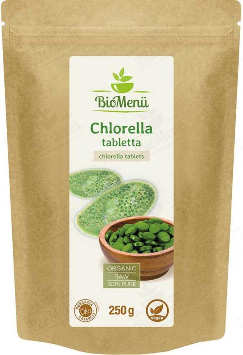 Chlorella Alga tabletta BioMenü 250 g
