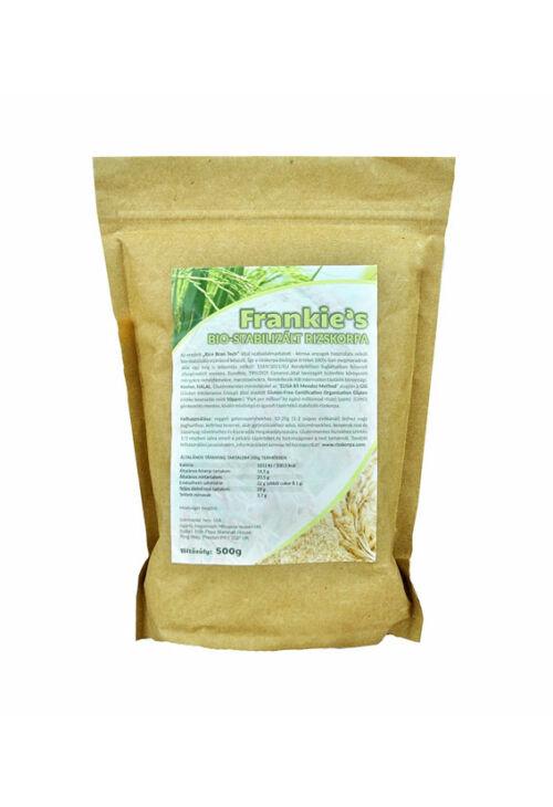 Frankie's bio stabilizált rizskorpa - 500 g