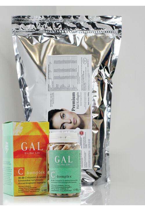 Hidrolizált halkollagén + GAL C-vitamin
