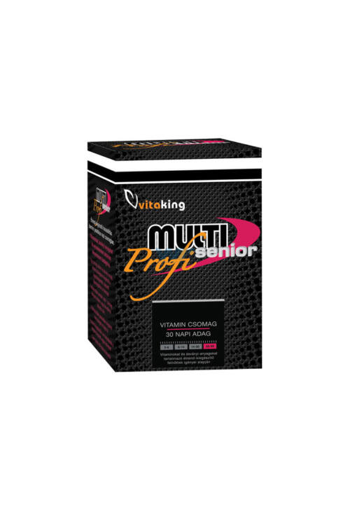 Vitaking Multi Senior Profi multivitamin csomag – 30db