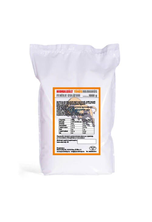 Hidrolizált tökös marhafehérje izolátum