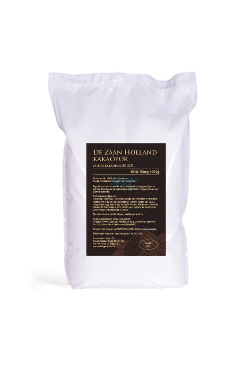 De Zaan Holland zsíros kakaópor 20-22% - 1 kg