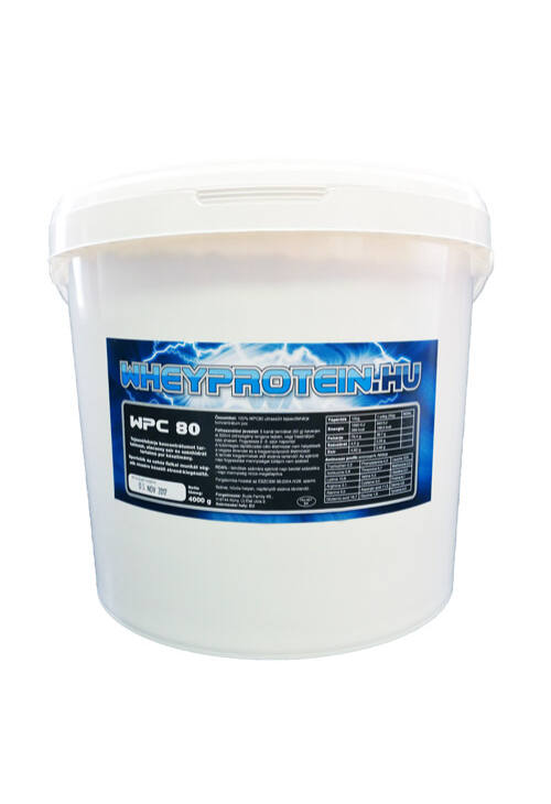 WPC80 natúr tejsavófehérje koncentrátum